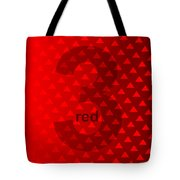 Red God Three Tote Bag