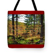 Red, Gold And Green Tote Bag