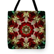 Red Gold Green Kaleidoscope 2 Tote Bag