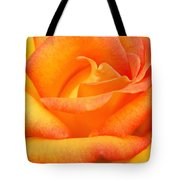Red Gold Rose Tote Bag