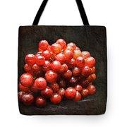 Red Grapes Tote Bag