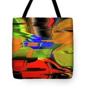Red Green Yellow Blue Tote Bag
