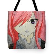 Red Haired  Tote Bag