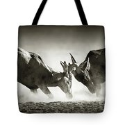 Red Hartebeest Dual In Dust Tote Bag