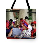 Red Hat Day Tote Bag
