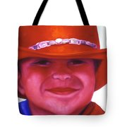 Red Hat Girl Tote Bag