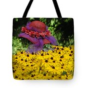 Red Hat Parade Tote Bag