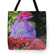 Red Hat Veil Tote Bag