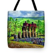 Red Hats Tote Bag