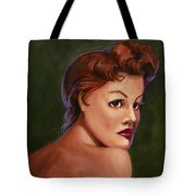 Red Head Tote Bag