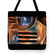 Red Head On Tote Bag by Steve Karol