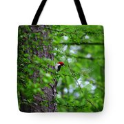Red Headed Beauty Tote Bag
