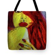 Red Headed Step Child Tote Bag