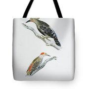 Red Headed Woodpeckers 3 Tote Bag
