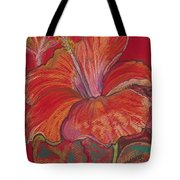 Red Hibiscus #1 Tote Bag