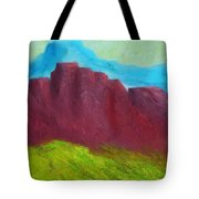 Red Hills Revisited. Tote Bag