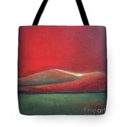 Red Hills Sunset Tote Bag