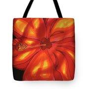 Red Hibiscus 1 Tote Bag