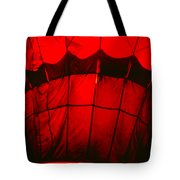 Red Hot Air Balloon Tote Bag