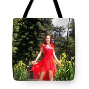 Red Hot - Ameynra Fashion By Sofia Metal Queen. Tote Bag