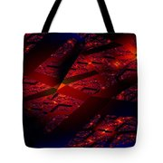 Red Hot Confetti Tote Bag
