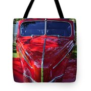 Red Hot Rod Tote Bag