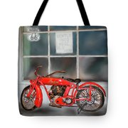 Red Hot Tail Gunner Tote Bag