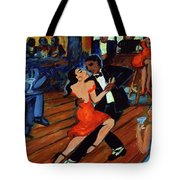 Red Hot Tango Tote Bag