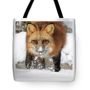 Red Hunter Tote Bag