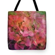 Red Hydrangea 2421 Idp_2 Tote Bag
