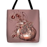 Red Jewels Tote Bag