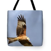 Red Kite Flying Tote Bag