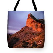 Red Knife Tote Bag