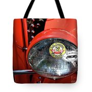 Red La Roadster Tote Bag