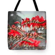 Red Lady Fingers Tote Bag