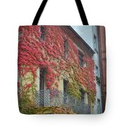 Red Leaves Of Fall Tote Bag