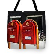 Red Letter Tote Bag