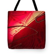 Red Light District In Nyc Tote Bag