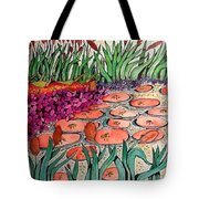 Red Lillies 2 Tote Bag