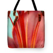 Red Lily Reach Tote Bag