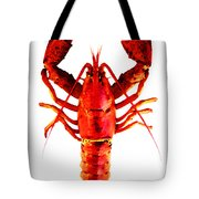 Red Lobster - Full Body Seafood Art Tote Bag