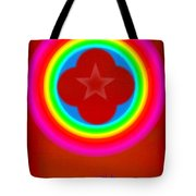Red Logo Tote Bag