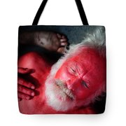 Red Man Tote Bag