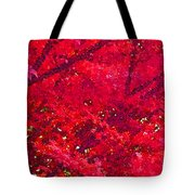 Red Maple 2 Version 1 Tote Bag