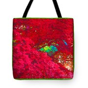 Red Maple 4 Tote Bag