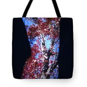 Red Maple Tote Bag by Arla Patch