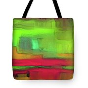 Red Meets Green Tote Bag