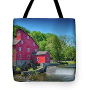 Red Mill Of Clinton New Jersey Tote Bag