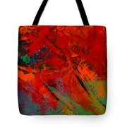 Red Mood Tote Bag