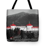 Red Mount Washington Resort Tote Bag